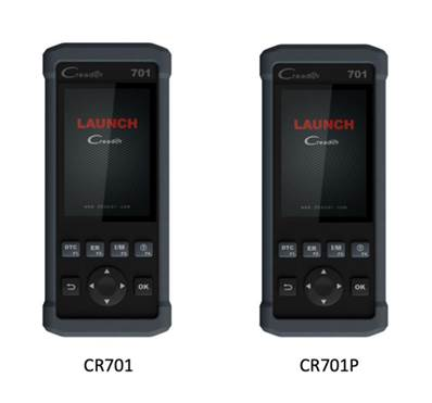 LAUNCH CR701P (OBDII + RESET HUILE, EPB, TPMS, BMS, SAS, DPF)